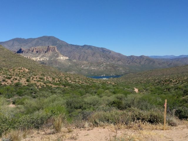 Apache Lake Vista - Superstition Mountains, AZ